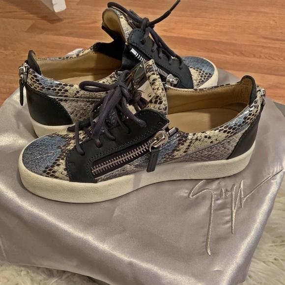 Giuseppe Zanotti Python Sneakers